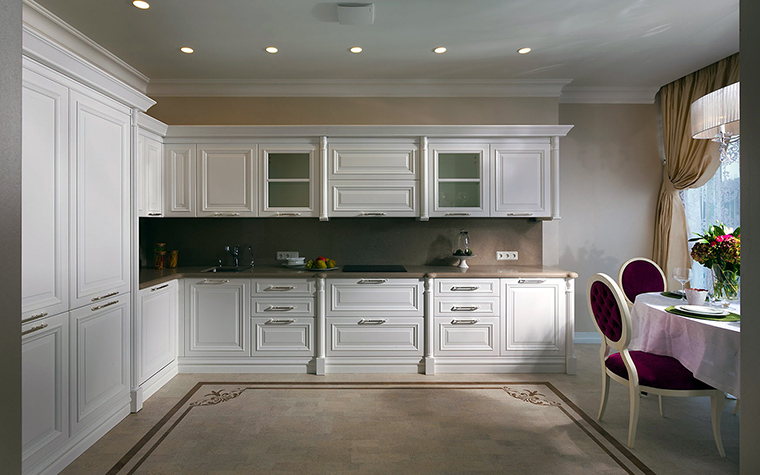 Фото № 49854 кухня  Квартира