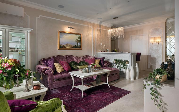 Фото № 49851 гостиная  Квартира