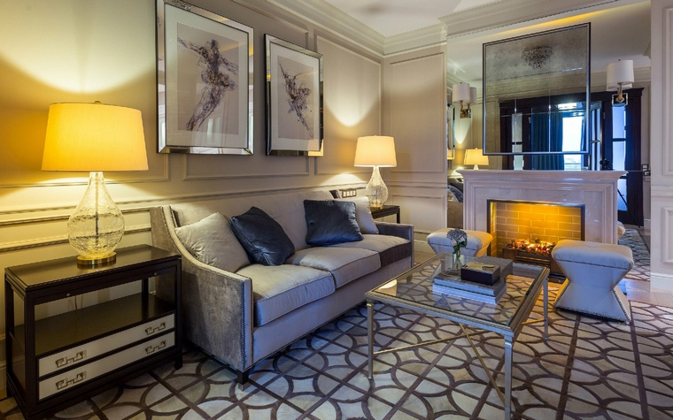 Квартира. гостиная из проекта , фото №50136