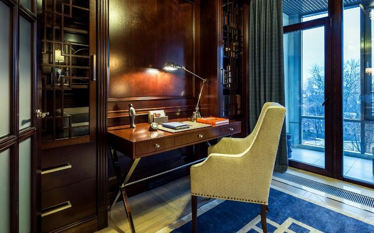 Квартира. кабинет из проекта , фото №50138