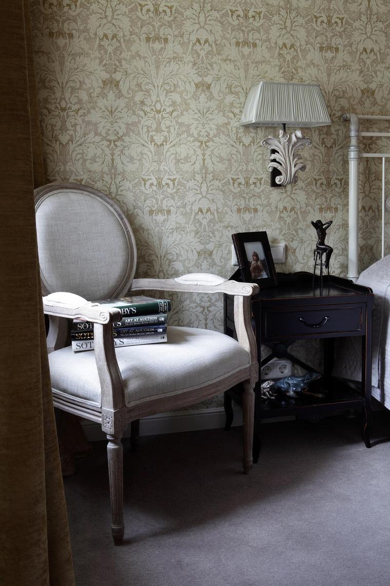 интерьер спальни - фото № 50286