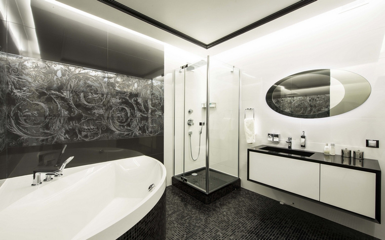 Квартира. ванная из проекта , фото №50387