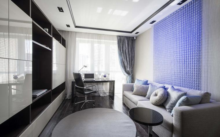 Квартира. кабинет из проекта , фото №50386