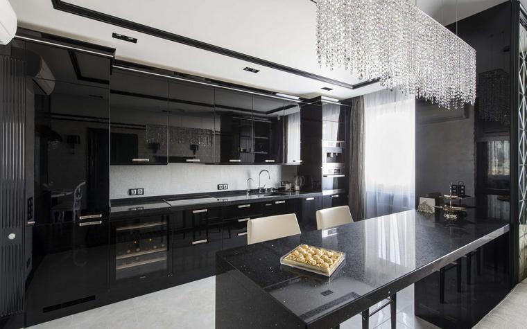 Квартира. кухня из проекта , фото №50379