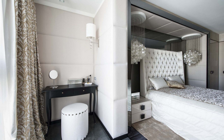 Квартира. спальня из проекта , фото №50382