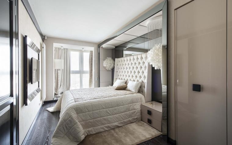 Квартира. спальня из проекта , фото №50383