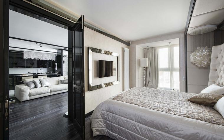 Квартира. спальня из проекта , фото №50384