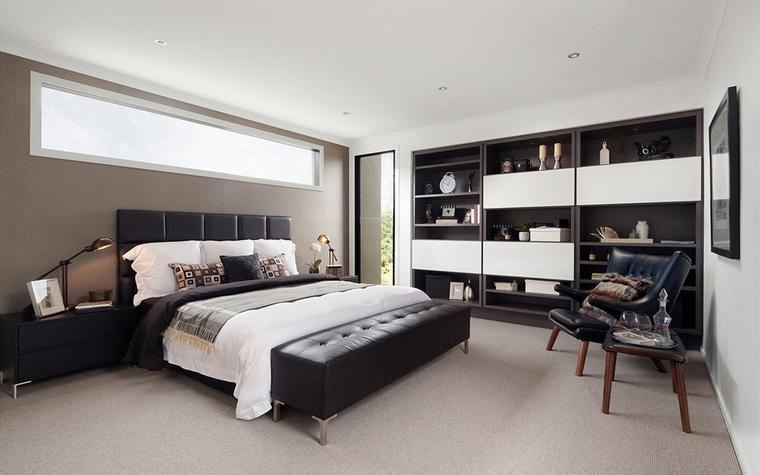 интерьер спальни - фото № 50486