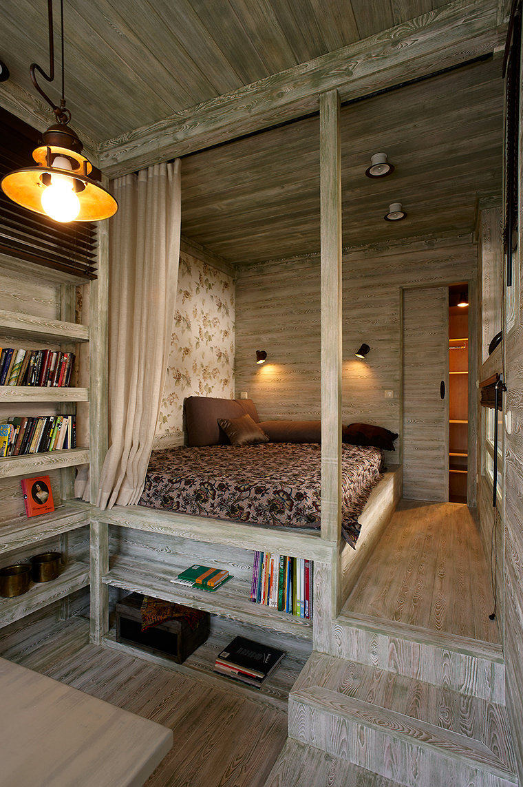интерьер спальни - фото № 50502