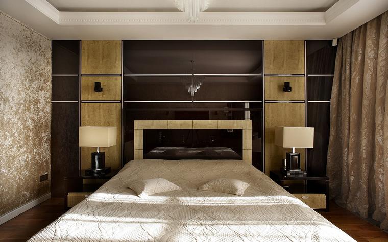 Квартира. спальня из проекта , фото №50516
