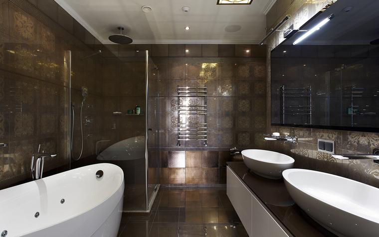 Фото № 50517 ванная  Квартира