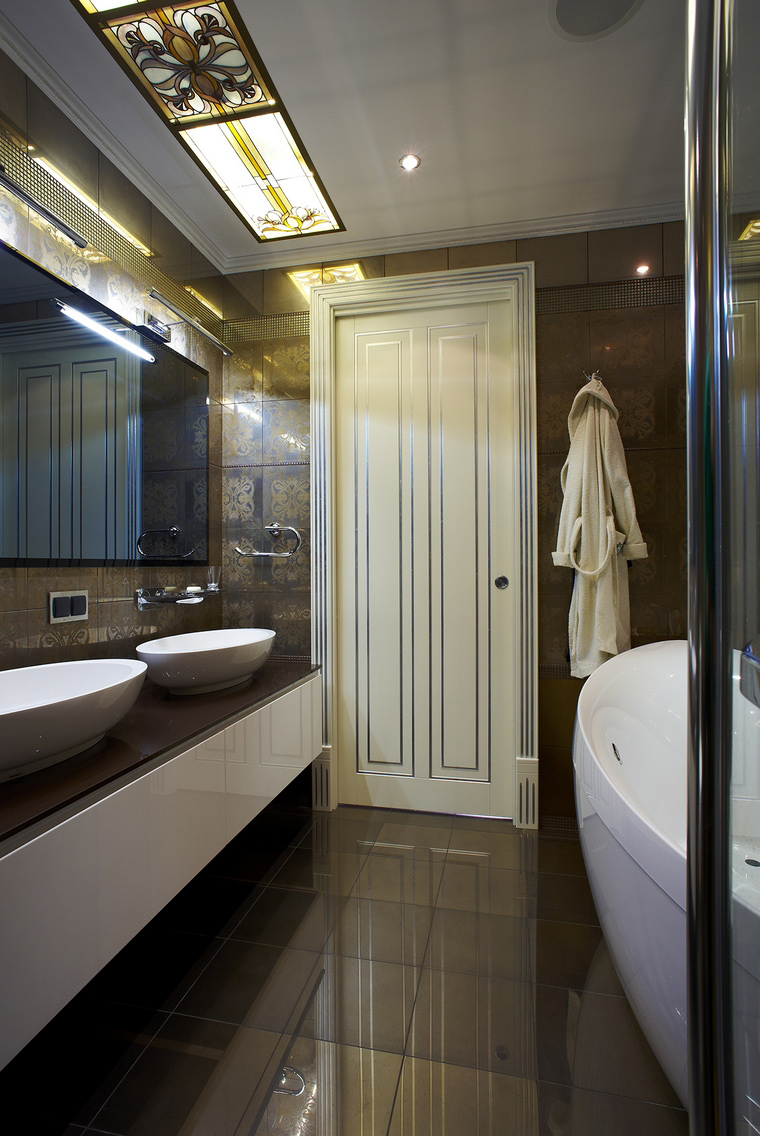 Фото № 50518 ванная  Квартира