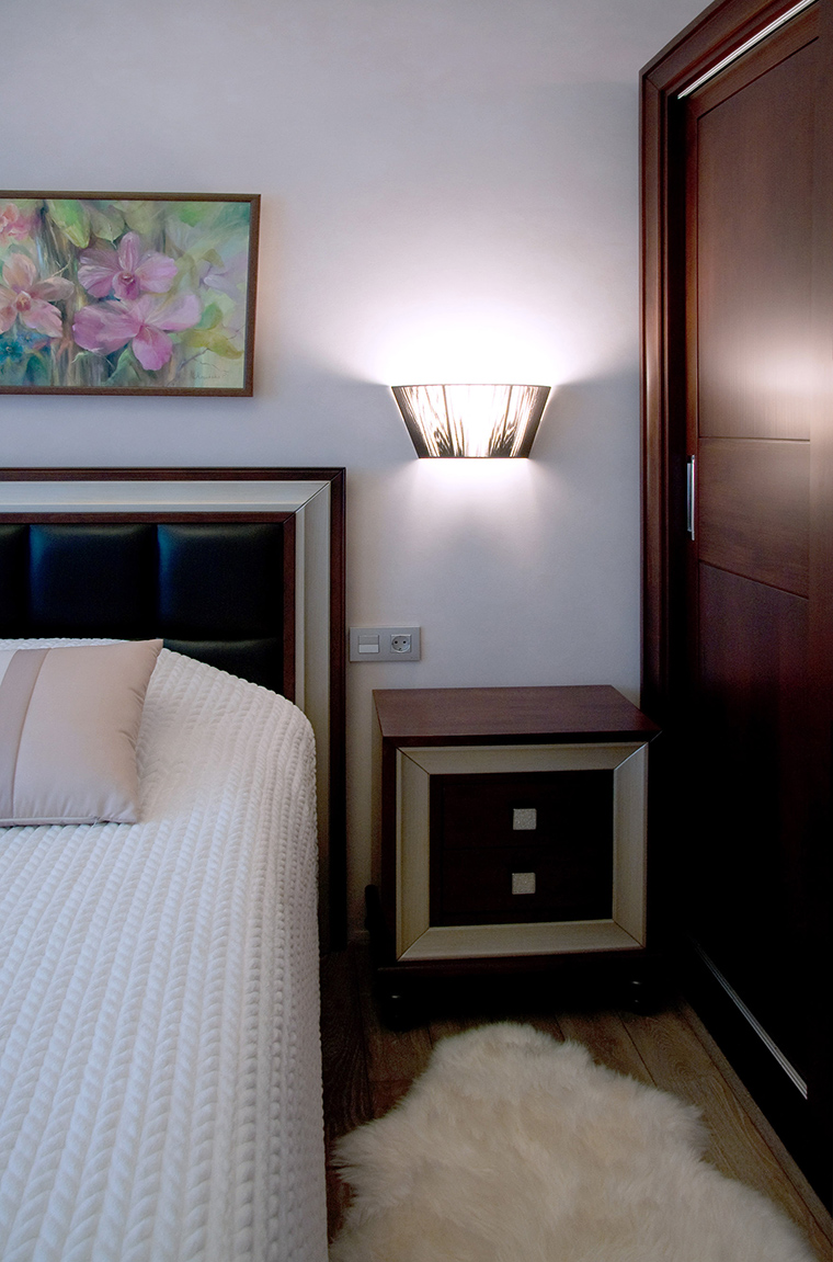 Фото № 50734 спальня  Квартира