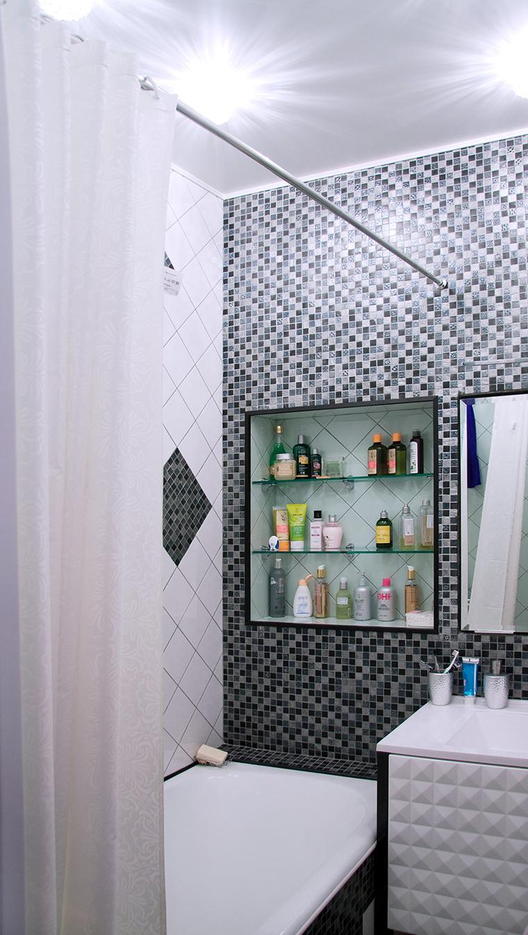 Фото № 50742 ванная  Квартира