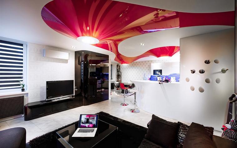 интерьер гостиной - фото № 50692
