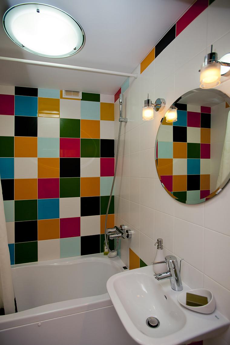 Квартира. ванная из проекта , фото №50817