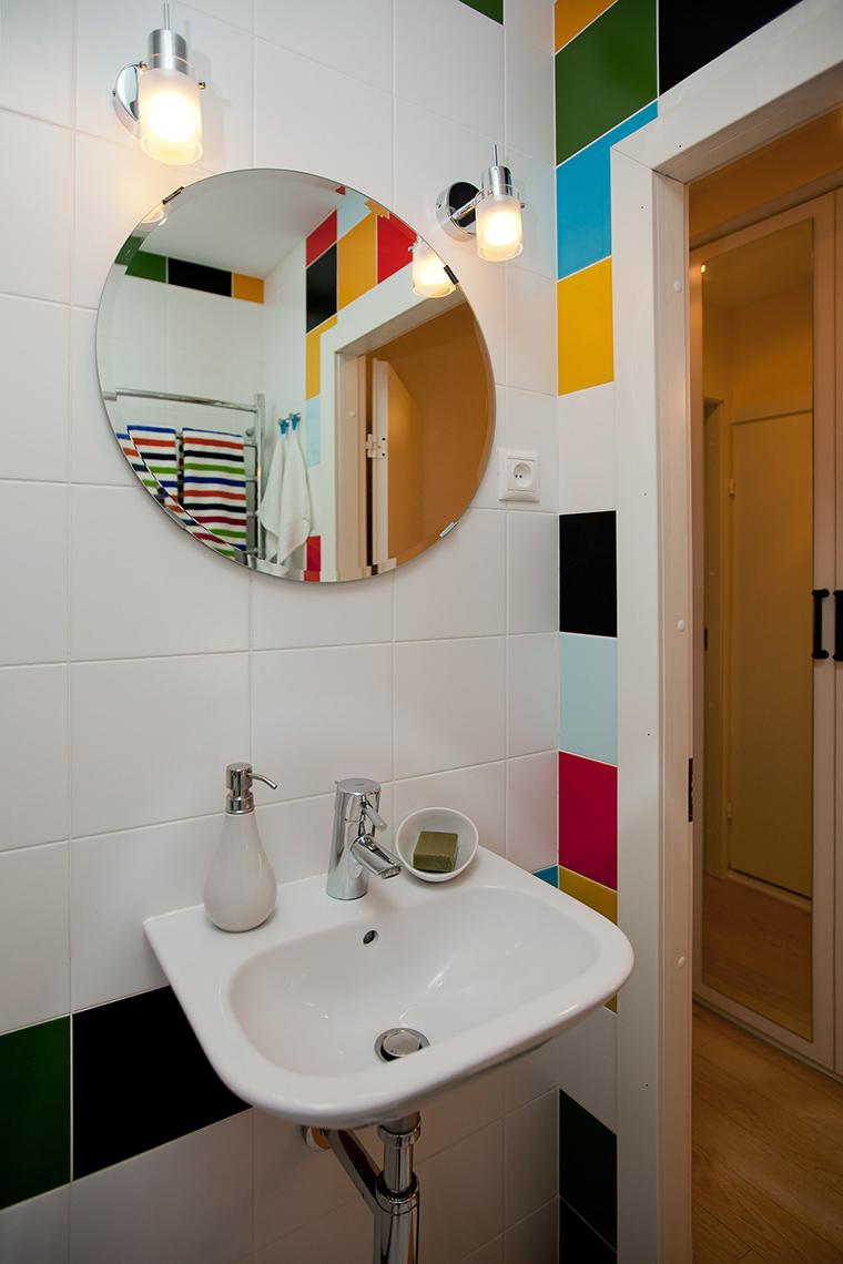 Квартира. ванная из проекта , фото №50818