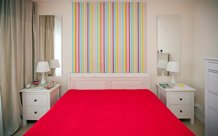 Квартира. спальня из проекта , фото №50815