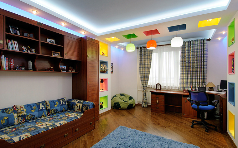 Квартира. детская из проекта , фото №50839