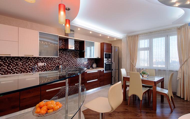 Квартира. кухня из проекта , фото №50835