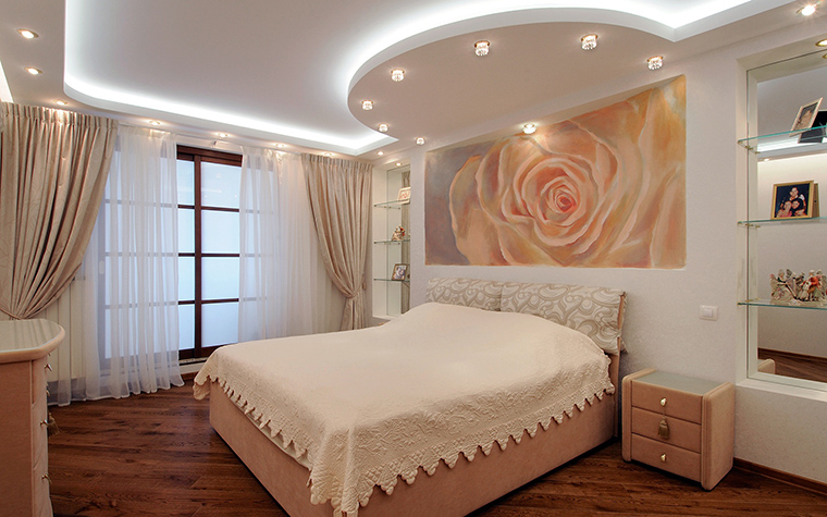 Квартира. спальня из проекта , фото №50837