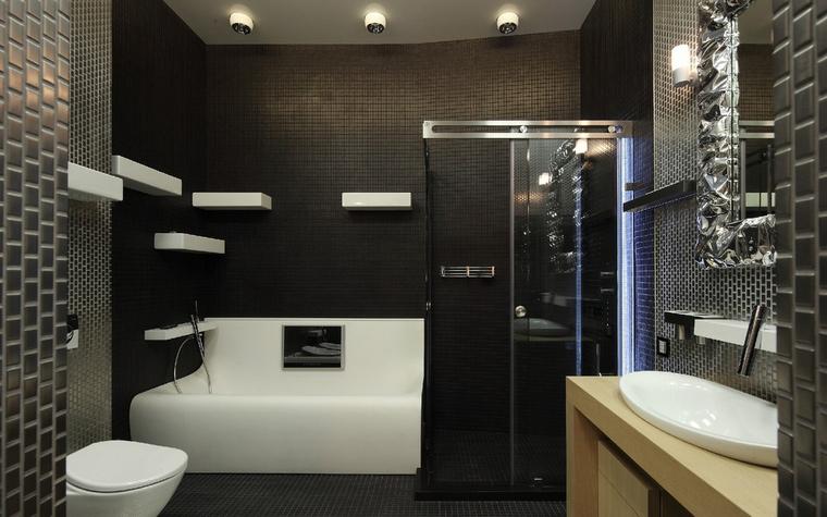 Квартира. ванная из проекта , фото №50861