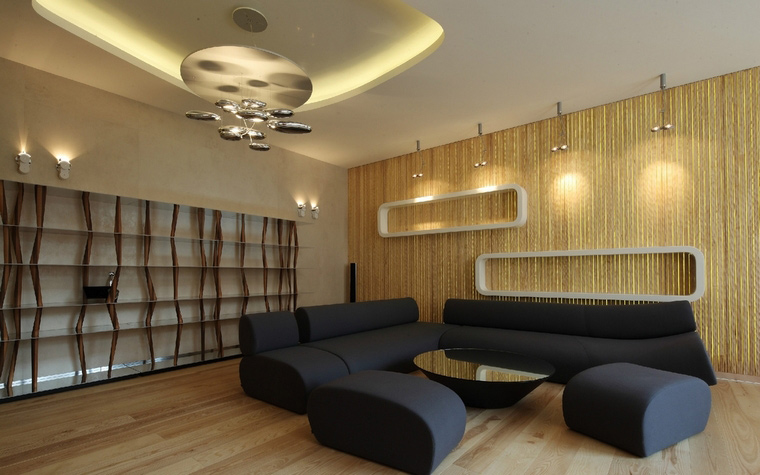 интерьер гостиной - фото № 50856
