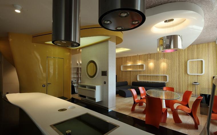 Квартира. кухня из проекта , фото №50857