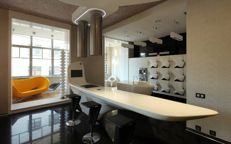 Квартира. кухня из проекта , фото №50858