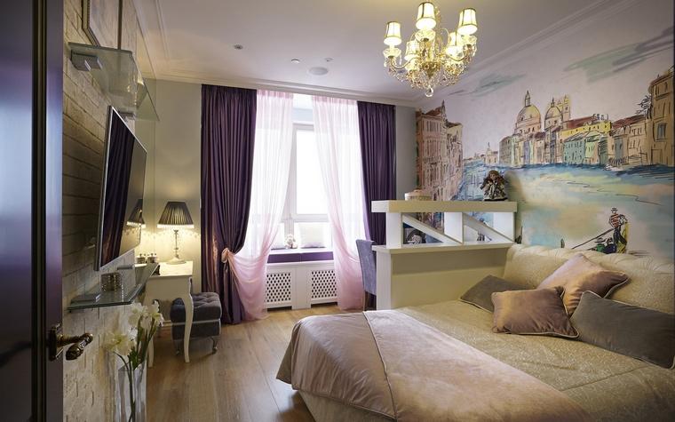 интерьер спальни - фото № 50888
