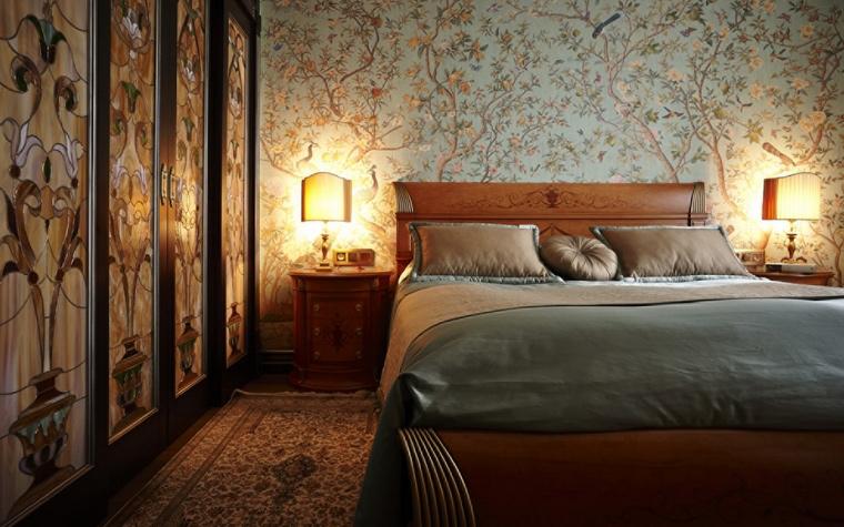 интерьер спальни - фото № 50882