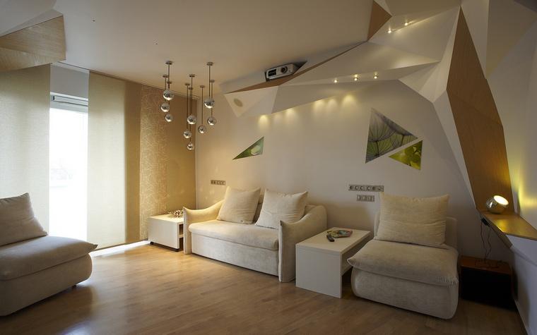Квартира. гостиная из проекта , фото №50903