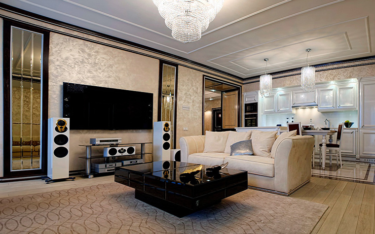 интерьер гостиной - фото № 50932