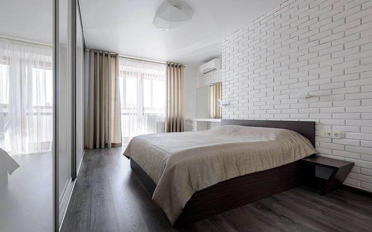 Квартира. спальня из проекта , фото №50958