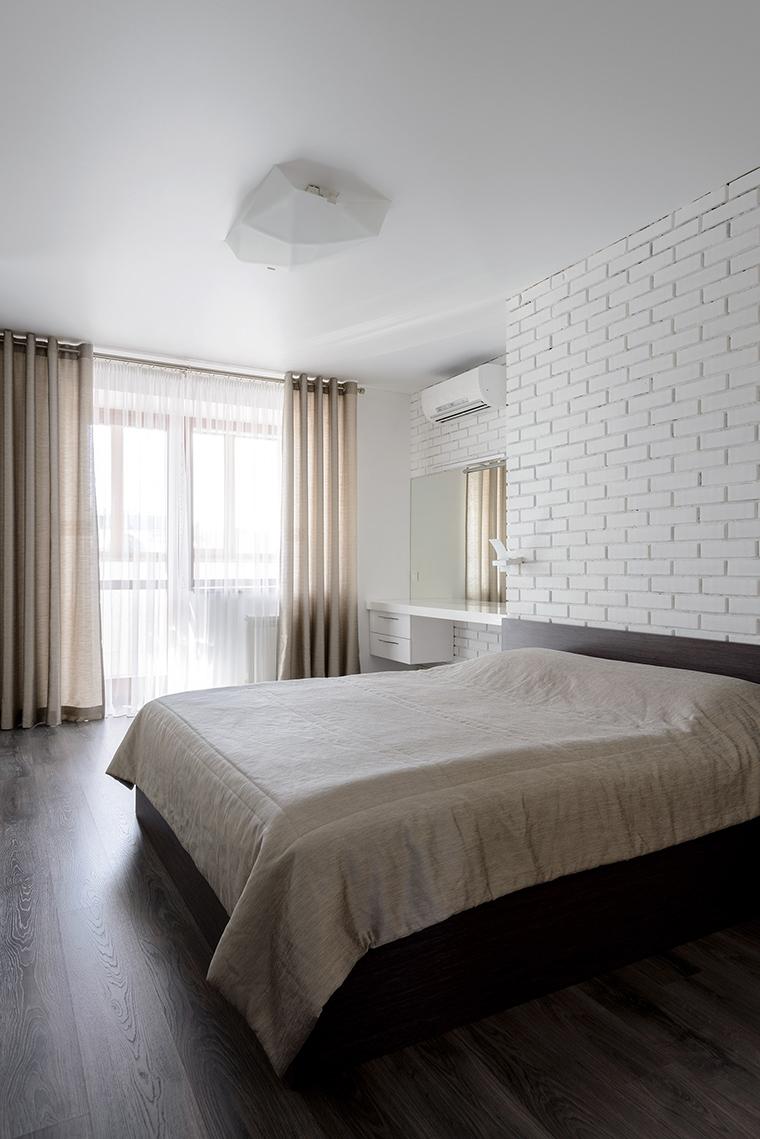 Квартира. спальня из проекта , фото №50959