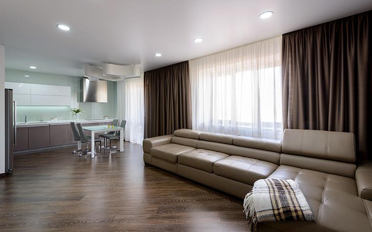Фото № 50955 гостиная  Квартира