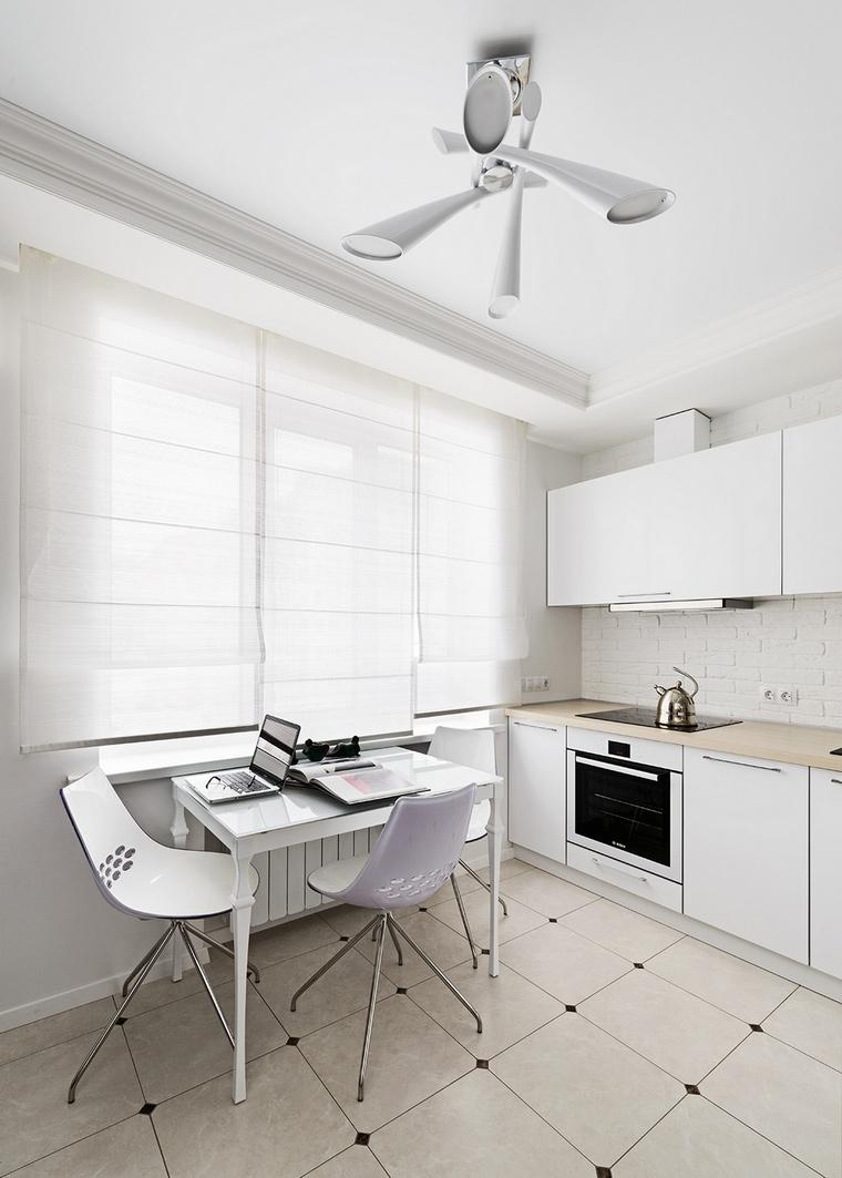 Квартира. кухня из проекта , фото №51118