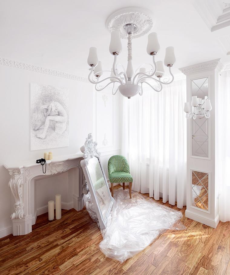 Квартира. спальня из проекта , фото №51170