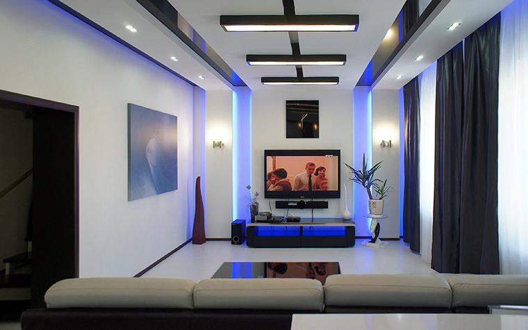 интерьер гостиной - фото № 51244