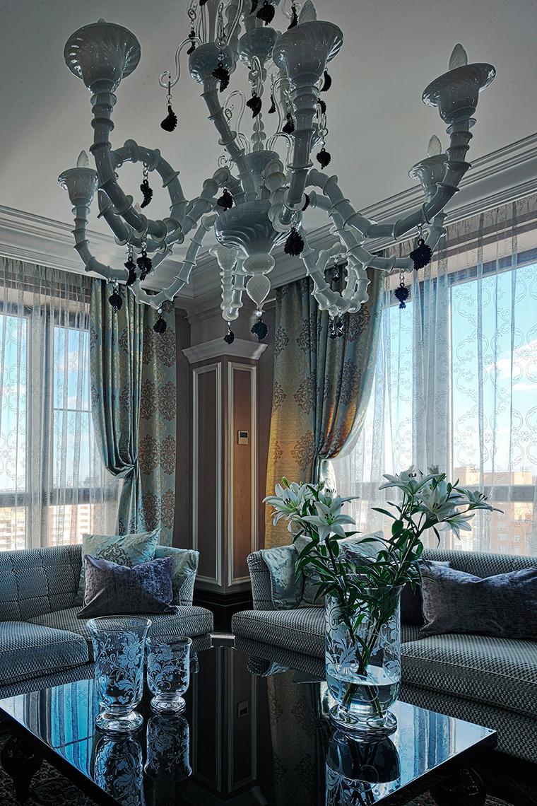 интерьер гостиной - фото № 51320