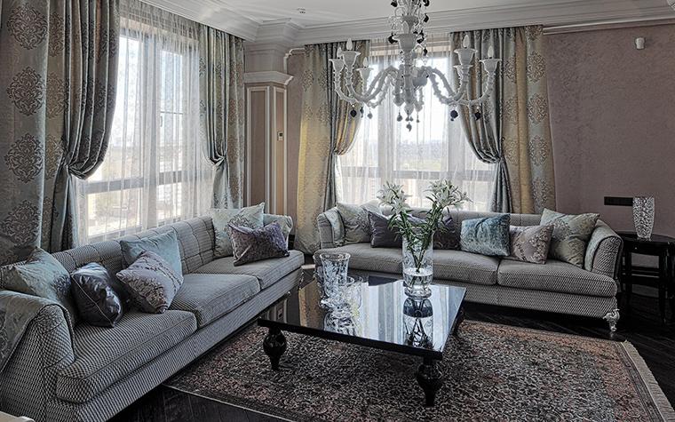 интерьер гостиной - фото № 51317