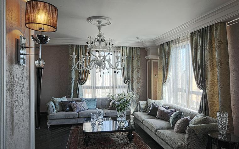 интерьер гостиной - фото № 51318