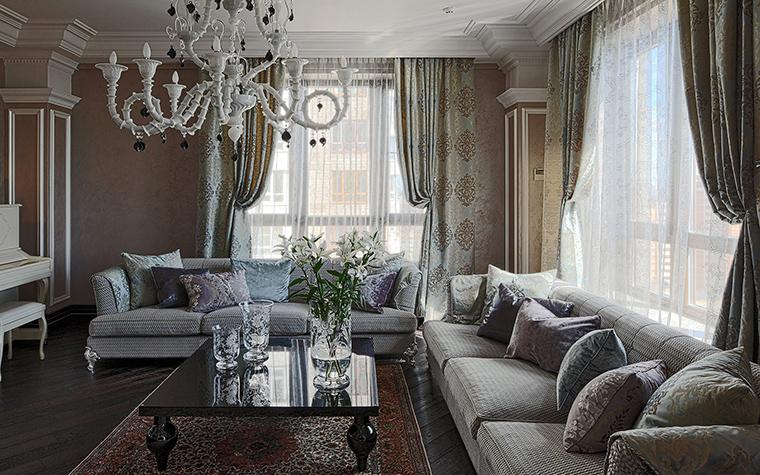 интерьер гостиной - фото № 51319