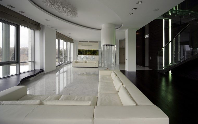 интерьер гостиной - фото № 51943