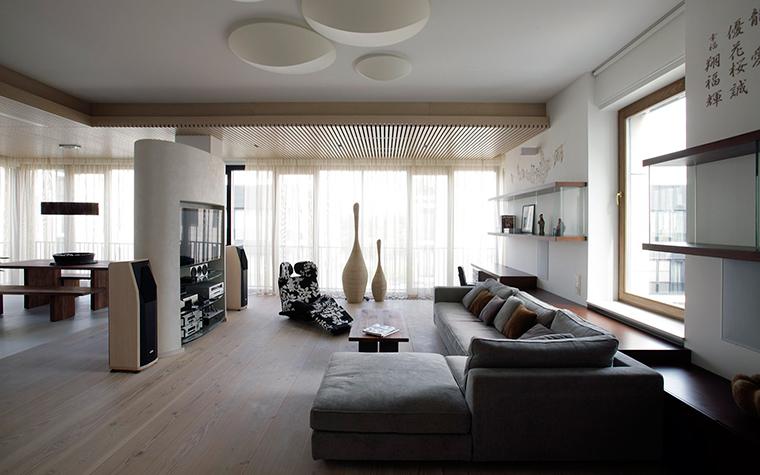 Квартира. гостиная из проекта , фото №51912