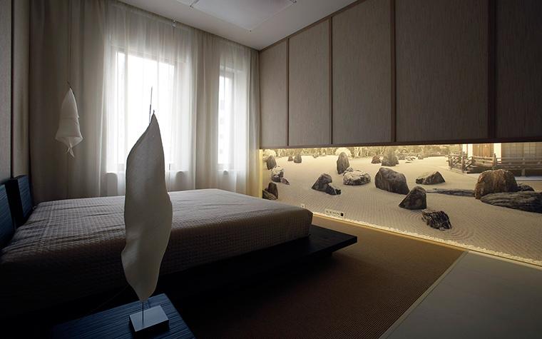 Квартира. спальня из проекта , фото №51917