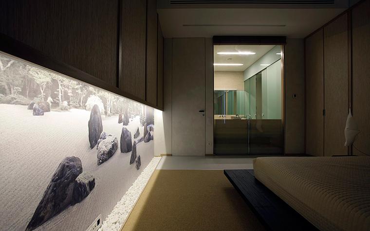 Квартира. спальня из проекта , фото №51918