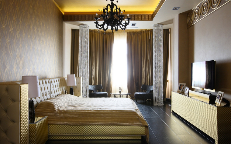 Фото № 51978 спальня  Квартира