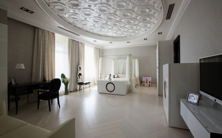 15 детских комнат и спален в белом цвете