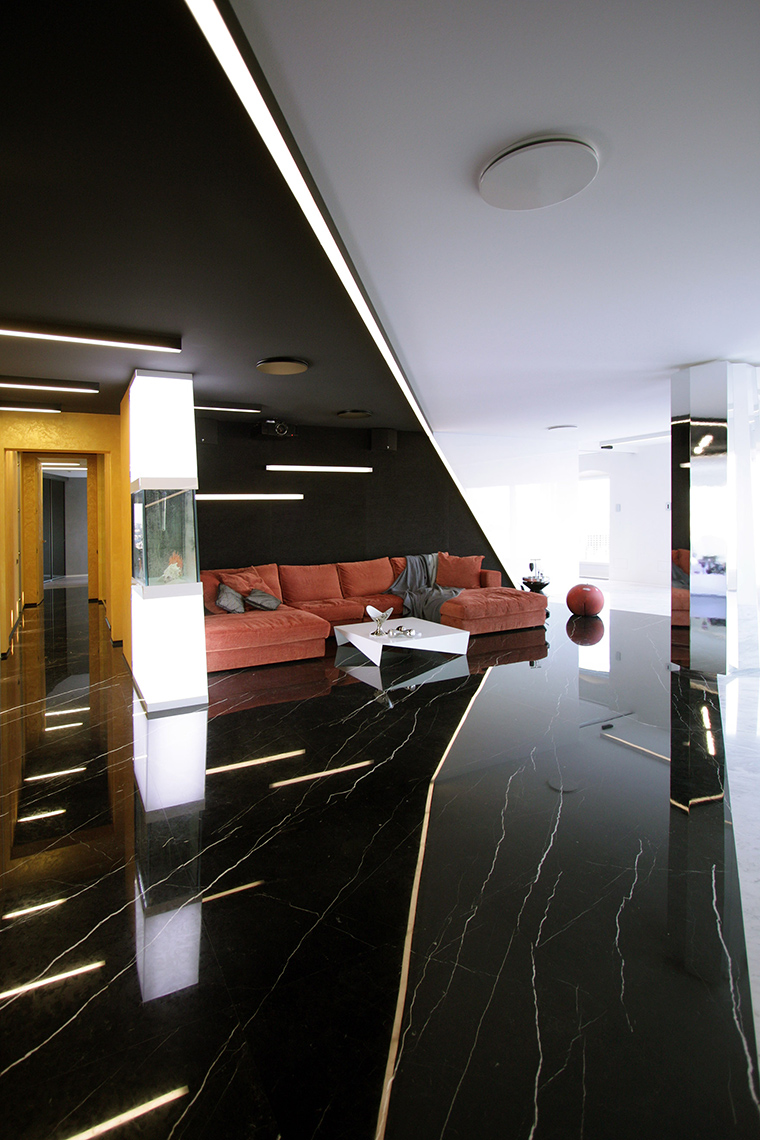 Фото № 51932 гостиная  Квартира